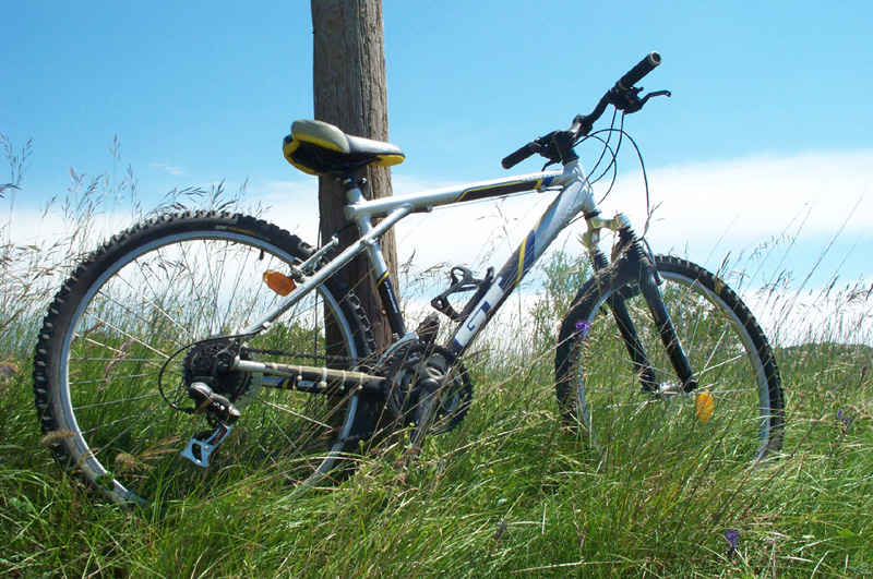 Many opportunities for mountain biking
